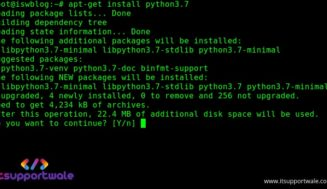 How to upgrade to python 3.7 on Ubuntu 18.10