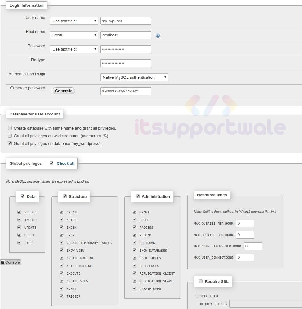 user-details-for-wp-in-phpmyadmin