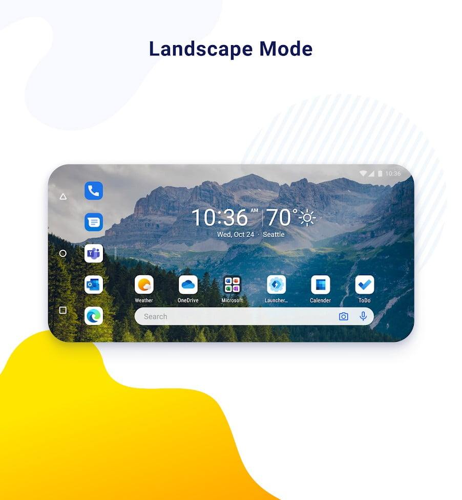 Microsoft-Launcher-Preview-landscapemode