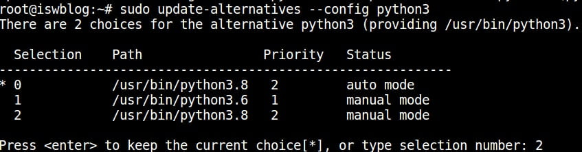 update-python-config-for-3.8