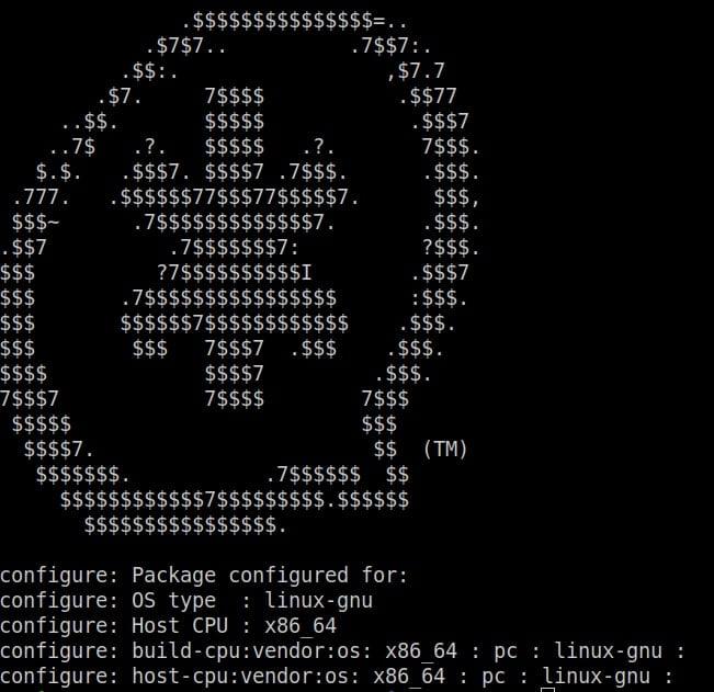 Asterisk-configure-script-output