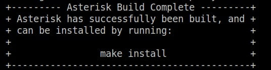 asterisk-installation-make-output