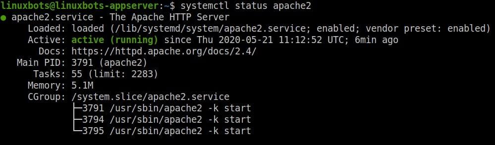 apache2-service-status-verify